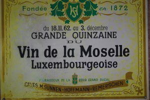 affiche des années 60, vin de la Moselle