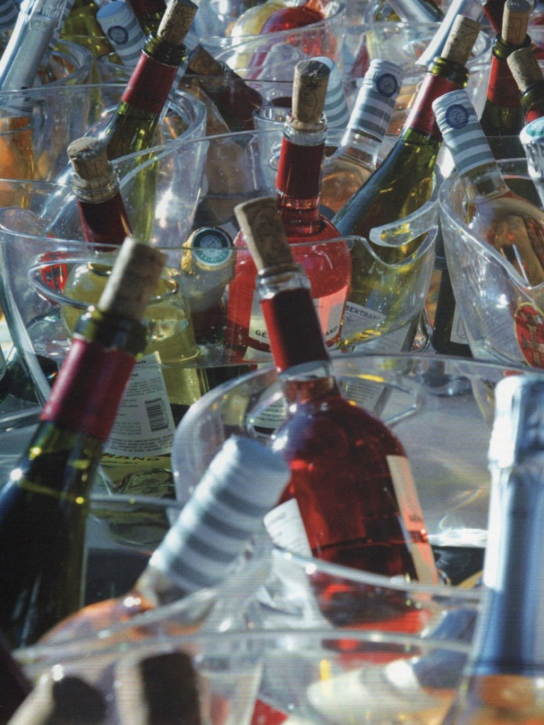 bouteilles vin